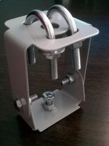 Поворотный кронштейн для крепления на трос для светильников DK-P2, DK-P3